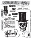 CMS240 Stampers Anonymous Tim Holtz Cling Mounted Stamp Set -  Undertaker Stamp Set